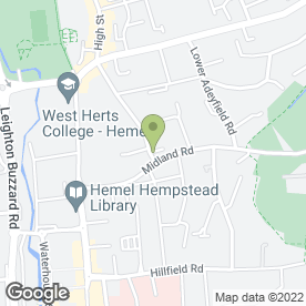 Map of Barton Lodge Veterinary Centre Ltd in Hemel Hempstead, hertfordshire