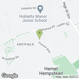 Map of Shell U.K Ltd in Adeyfield, Hemel Hempstead, hertfordshire