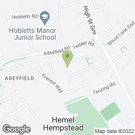 Map of Deacon & Sons in Hemel Hempstead, hertfordshire
