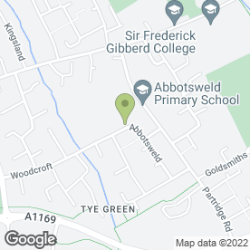 Map of P J Plastering in Harlow, essex