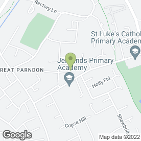 Map of A J W Gas Services Ltd in Harlow, essex