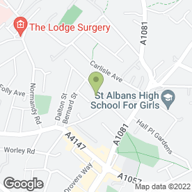 Map of Lady Fix in St. Albans, hertfordshire
