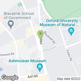Map of Wenn Townsend in Oxford, oxfordshire