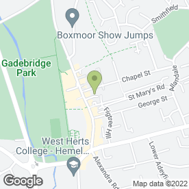 Map of Abbey Decorators in Hemel Hempstead, hertfordshire