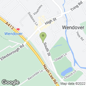 Map of Wendover Financial Ltd in Wendover, Aylesbury, buckinghamshire