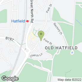 Map of HAIR & BEAUTY BOUTIQUE in Hatfield, hertfordshire