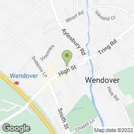 Map of Scruples in Wendover, Aylesbury, buckinghamshire
