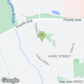 Map of David Duncan Decorating Services in Harlow, essex