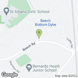 Map of Andrianne Bridal & Evening Wear Couture in St. Albans, hertfordshire