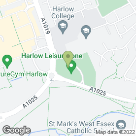 Map of Harlow Leisurezone in Harlow, essex