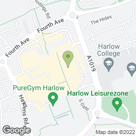 Map of Perfect Nail Bar in Harlow, essex