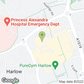 Map of Essex Lettings in Harlow, essex