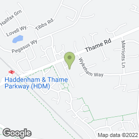Map of EcoPure Waters Ltd in Haddenham, Aylesbury, buckinghamshire