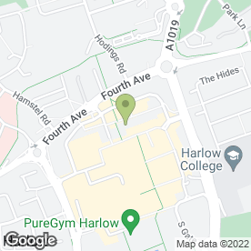Map of Bailey Nicholson Grayson in HARLOW, essex