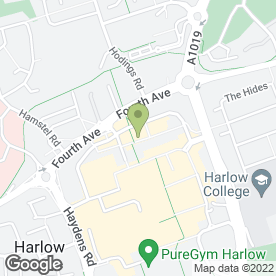 Map of DG & CO in Harlow, essex