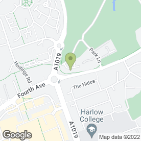Map of Xlr8 Driving School in Harlow, essex
