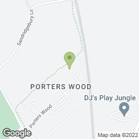 Map of UKBS in Porters Wood, St. Albans, hertfordshire