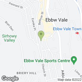 Map of Holding Lyndon T BDS LDS RCS & Associates in Ebbw Vale, gwent