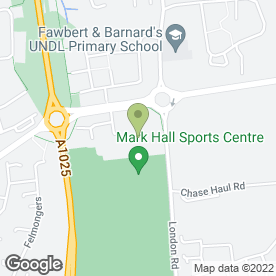 Map of Hando Ju Jitsu Club - Harlow in Harlow, essex