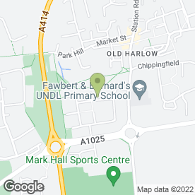 Map of LINDA'S SCHOOL OF MOTORING in Harlow, essex