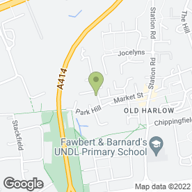 Map of Pop Browns in Harlow, essex