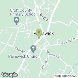Map of Painswick P.O in Painswick, Stroud, gloucestershire