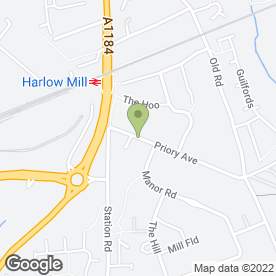 Map of S.G.S in Harlow, essex
