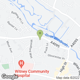 Map of Damo's Taxis in Witney, oxfordshire