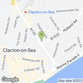 Map of Citizens Advice Bureau in Clacton-On-Sea, essex