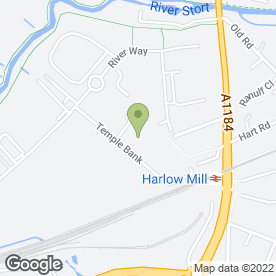 Map of David Brown Skip Hire & Recycling in Harlow, essex