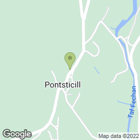 Map of Acorn Landscaping & Maintenance in Pontsticill, Merthyr Tydfil, mid glamorgan