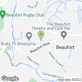 Map of Autohelp in Beaufort, Ebbw Vale, gwent