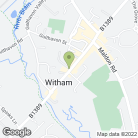 Map of Nationwide Building Society in Witham, essex