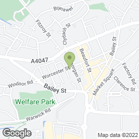 Map of Aparajita Surgery in Brynmawr, Ebbw Vale, gwent