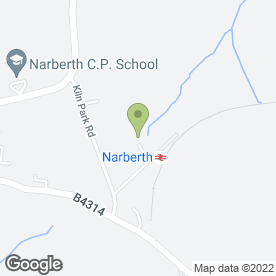Map of Narberth Childminders in Narberth, dyfed