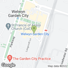 Map of Crane & Staples in Welwyn Garden City, hertfordshire