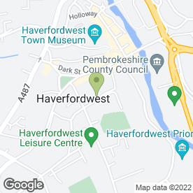 Map of Eclipse the Sun & Beauty Centre in Haverfordwest, dyfed