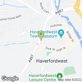 Map of Zenith Interiors Ltd in Haverfordwest, dyfed