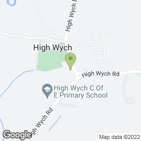 Map of CCR Manufacturing in High Wych, Sawbridgeworth, hertfordshire