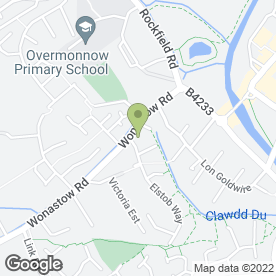 Map of Powells Chartered Surveyors in Monmouth, gwent