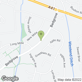 Map of Aylesbury Gardening Services in Aylesbury, buckinghamshire