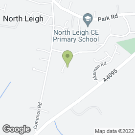 Map of Peter Dix in North Leigh, Witney, oxfordshire