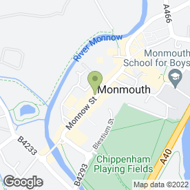 Map of Specsavers in Monmouth, gwent