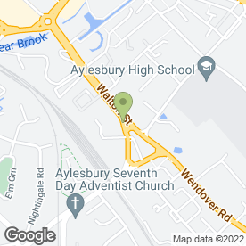 Map of NKA Removals Ltd - Aylesbury in Aylesbury, buckinghamshire