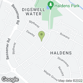 Map of Circles Montessori Nursery School in Welwyn Garden City, hertfordshire