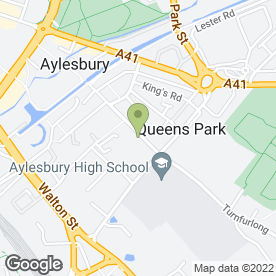 Map of Aylesbury Fencing & Paving Services Ltd in Aylesbury, buckinghamshire
