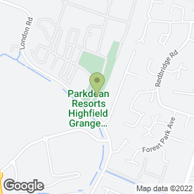 Map of Highfield Holiday Park in Clacton-On-Sea, essex
