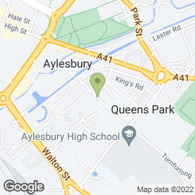 Map of Picture Perfect Weddings in Aylesbury, buckinghamshire