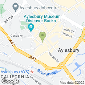 Map of Adore Bridalwear in AYLESBURY, buckinghamshire