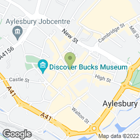 Map of Aylesbury Kebab & Burger House in Aylesbury, buckinghamshire